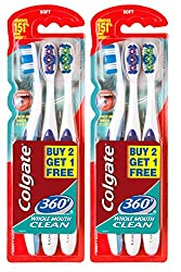 Colgate 360 Toothbrush (Buy 2 Get 1 Free)
