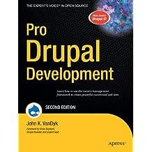 Pro Drupal Development, Second Edition (Expert's Voice in Open Source)