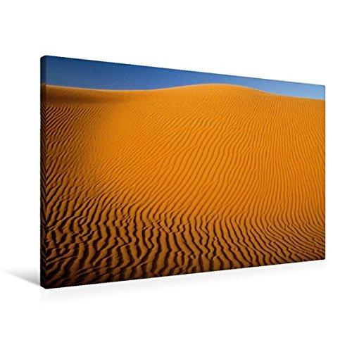 Calvendo Premium Textil-Leinwand 90 cm x 60 cm quer, Sanddüne, Grand Erg, Sahara, ALgerien | Wandbild, Bild auf Keilrahmen, Fertigbild auf echter Leinwand, Leinwanddruck Orte Orte