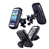 AutoStark Universal Auto Waterproof Bike Bicycle Mount Phone Holder Bag Case for iPhone