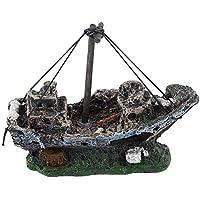 Lovelysunshiny Pirate Ships In Aquariums Aquarium Landscape Decoration Accesorios para acuarios