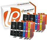 Bubprint 10 Druckerpatronen kompatibel für HP 934XL 935XL für OfficeJet 6800 Series 6820 6822 6825 Pro 6200 Series 6230 6235 6239 6830 6835 BK C M Y