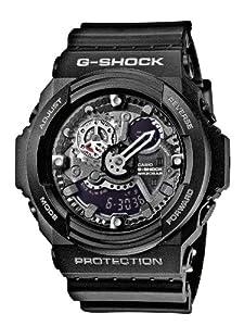 Reloj Casio GA-300-1AER y digital de cuarzo para hombre con correa de resina, color negro de Casio