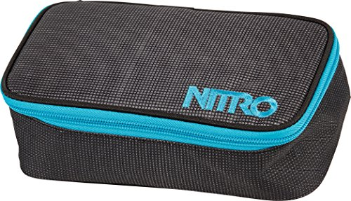Nitro Snowboards Mäppchen Pencil Case XL, Blur Blue/Trims, 22 x 12 x 7 cm, 1.36 Liter, 1161878043