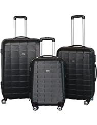Kofferset 3-teilig Reisekoffer Koffer Trolley Hartschalenkoffer ABS Teleskopgriff