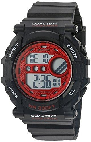 armitron-40-8290bkrd-rojo-acentuado-con-crongrafo-digital-del-deporte-los-hombres-mate-negro-correa-