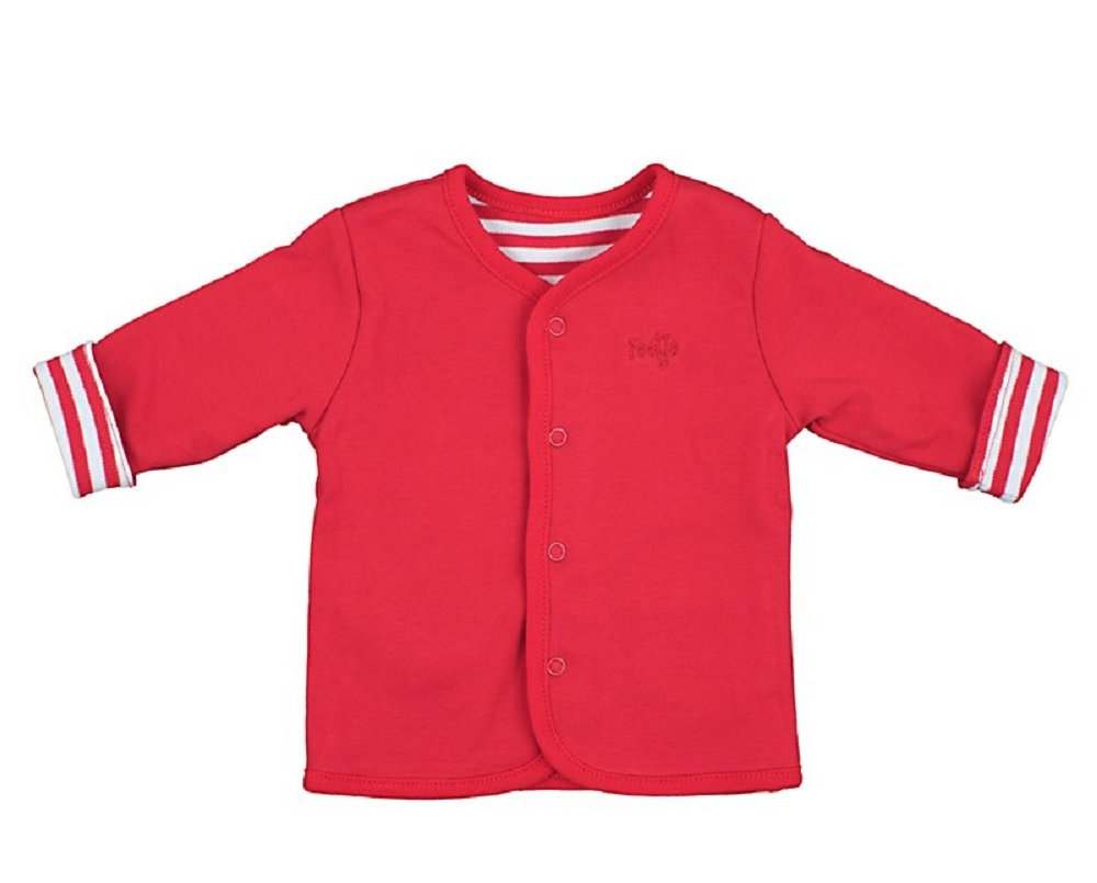 Feetje Baby Reversible Chaqueta Rojo Uni/Rayas (100) 1