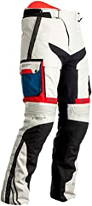 Rst Pro Series Adventure X Motorrad Textilhose Weiß Blau Rot 52 Auto