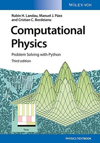 Computational Physics: Problem Solving with Python (No Longer Used) (English Edition)