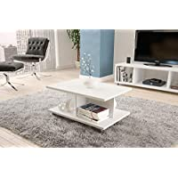 Center table from politorno white 2183, Size: 40 cm*90 cm* 60 cm