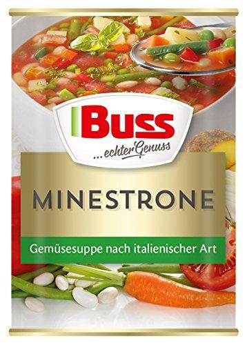 Buss Minestrone – Gemüsesuppe nach italienischer Art, 400 g