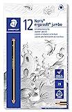 Staedtler Noris Ergosoft 153 Jumbo Schreiblernstift Härtegrad 2B 12 Stück