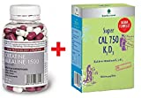 Creatine Alkaline 1500 (120 capsules) and Super Vitamins Gain Muscle Mass, No Loading, Stable, pH Buffered Creatine Monohydrate