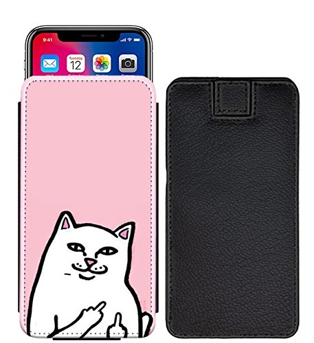 I-Sonite Famous Quotes Cat Speziell Gedruckten Lasche Tasche Phone Case Cover für verykool s5030 Helix II [S] - FQ03_Web