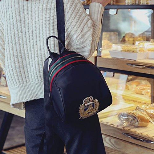 Oruil 2017 neue oxford Tuch Mini Schultertasche Weib liche Reißverschluss Multifunktions Kleine Tasche Rucksack Reise Kuriertasche 3 Carring Wege Gold
