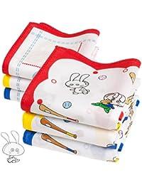 "6 niño pañuelos - Modelo ""Biscoto"" - 26 centimetros"