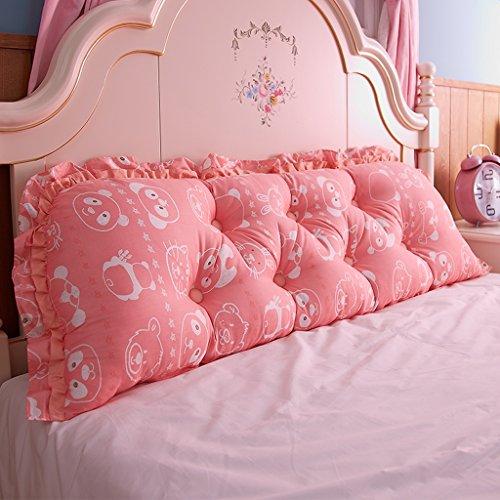 Bedside Rückenlehne Big Bedhead Kissen Soft & Bequeme Rückenlehne Schöne Home Decoration Square Pattern Wasit Care Muti-nützliche Kissen 200 * 53cm ( Farbe : J )