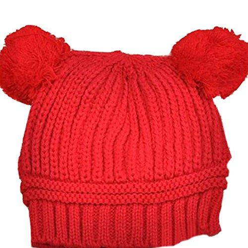 VISKEY Baby Girls Boys Kids Knit Cap Winter Warm Hat