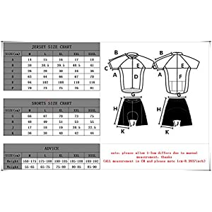 Fastar Summer Clothing Men's Cycling Joint - Cycling Maillot Jersey and Shorts