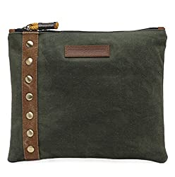 The House Of Tara Unisex Clutch (Moss Green) HTCL 014