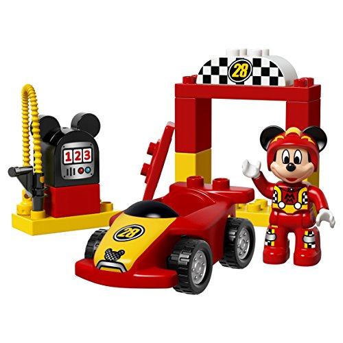 lego 10843 duplo jeu de construction la voiture de course de mickey 123jeu 123jeu. Black Bedroom Furniture Sets. Home Design Ideas
