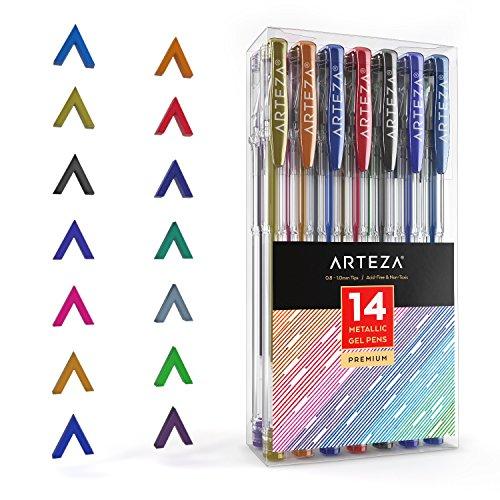 Arteza purpurina bolígrafos
