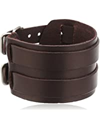 Cored Q022 Mens' Bracelet Leather