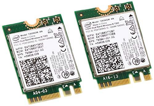 INTEL Dual Band Wireless-AC 7265, 2x2 AC + BT, M.2