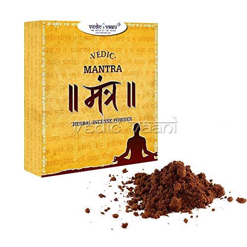 Vedic vaani vedic mantra erbe incenso in polvere