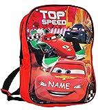 alles-meine.de GmbH Kinder Rucksack -  Disney Cars - Lightning McQueen  - Incl. Name - Tasche - ..