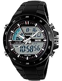 Oro de la moda local deportes al aire libre dual watch de men/Reloj digital de gelatina individual de los estudiantes-F