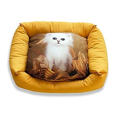 DAGOSTINO HOME Cama Cuna Tridimensional para Mascotas Sweet MINO - (Todas Las Medidas)