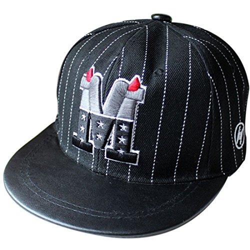 Belsen Kind Baby Teufel Ox Horn Baseball Kappen Cap Truckers Hat (schwarz Kinder)