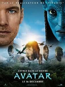 Affiche Cinéma Originale Grand Format - Avatar (format 120 x 160 cm pliée)