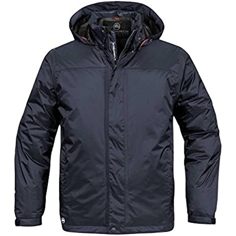Stormtech Mens Atlantis Ripstop Waterproof Insulated Shell Jacket Black,Navy