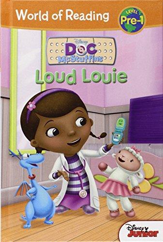 Loud Louie (Doc McStuffins: World of Reading, Level - Easy Reader Mcstuffins Doc
