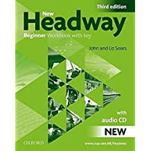 New Headway Beginner 3rd edition 2010 Workbook pack with key ( workbook and audio CD)