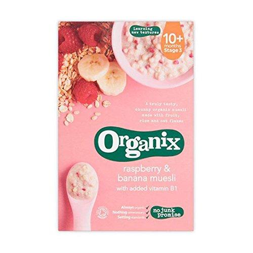 Organix | Raspberry & Banana Muesli | 4 x 200G
