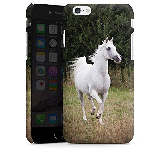 Apple iPhone 5s Hülle Schutz Case Cover Pferd Horse Tiere Premium Case matt