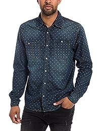 Timezone Textil - Chemise casual - Col chemise classique - Manches longues Homme