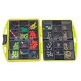 yeah67886tragbar Angeln behandelt, Zubehör Viel Taschenformat Halter Box Case (hellgrün)