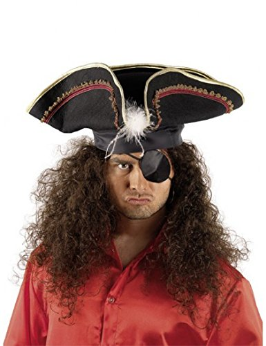 Chapeau tricorne de pirate adulte (Tricorne Pirate)