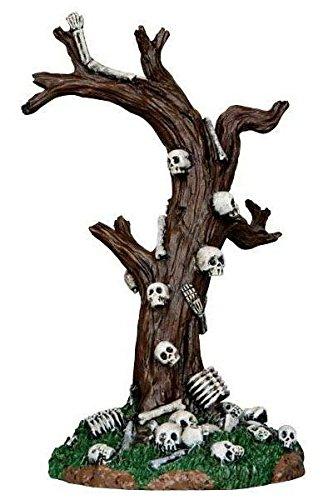 Lemax - Skeleton Tree - Totenkopfbaum - Höhe 13,50cm - Waldzubehör - Halloween Village - Spooky Town - Dorf