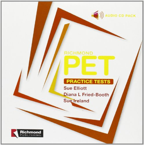 Cd Pet Cd 1 Practice Tests 1 And 2 Richmond (Richmond Exam Practice Tests) - 9788466813006
