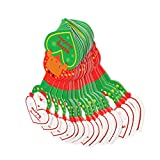 #6: Generic 50psc Lovely Christmas Santa Clause Reindeer Paper Hang Tags Gift Labels Wholesale
