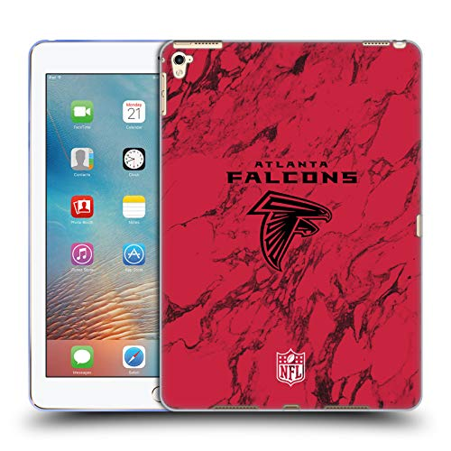 Price comparison product image Official NFL Coloured Marble 2018/19 Atlanta Falcons Soft Gel Case for iPad Pro 9.7 (2016)
