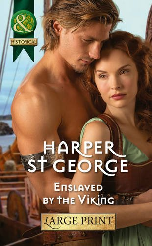Enslaved by the Viking (Mills & Boon Largeprint Historical)