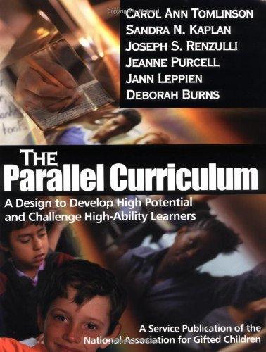 The Parallel Curriculum by Carol Ann Tomlinson (2001-10-25)
