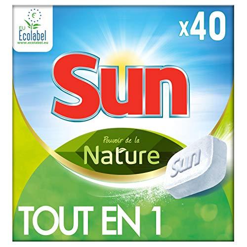 Sun Tablets lavavajilla ecológica 40