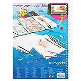 TOPModel Design Book + Videos Malbuch hergestellt von Fa. Depesche GmbH & Co. KG
